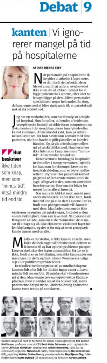 Kristeligt Dagblad 30. jan